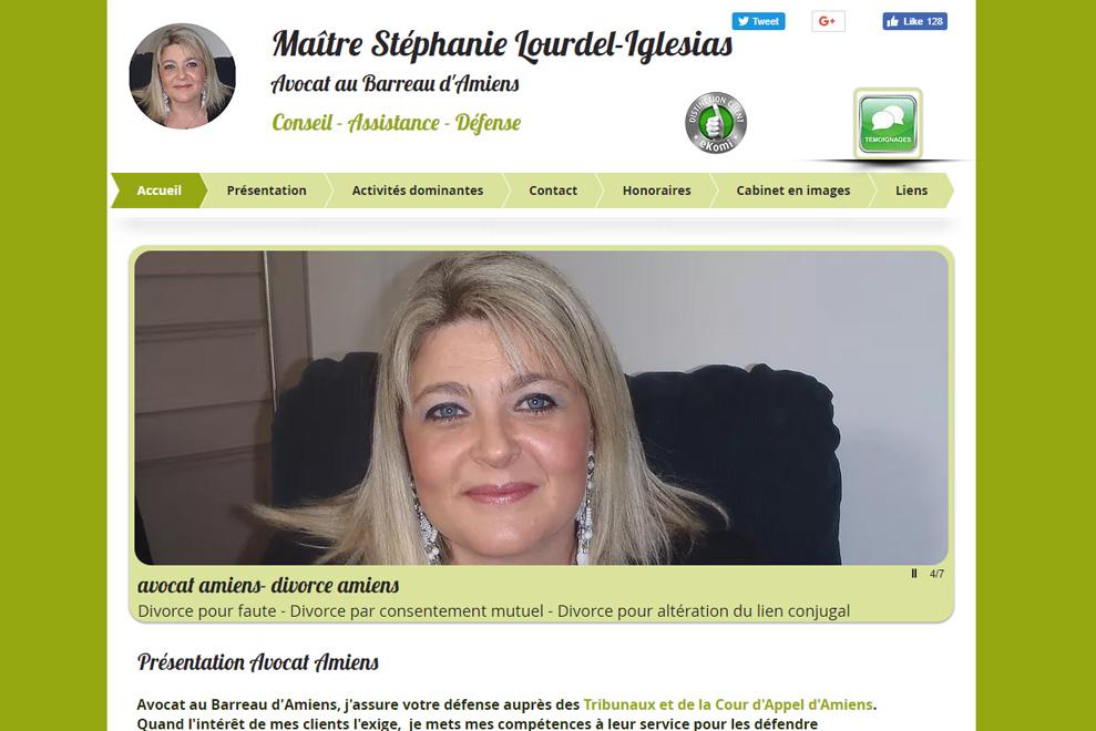 MeStéphanie Lourdel-Iglesias, avocat droit civil