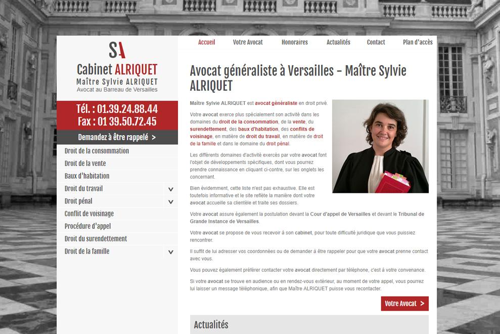 Me Sylvie Alriquet, avocat droit du travail