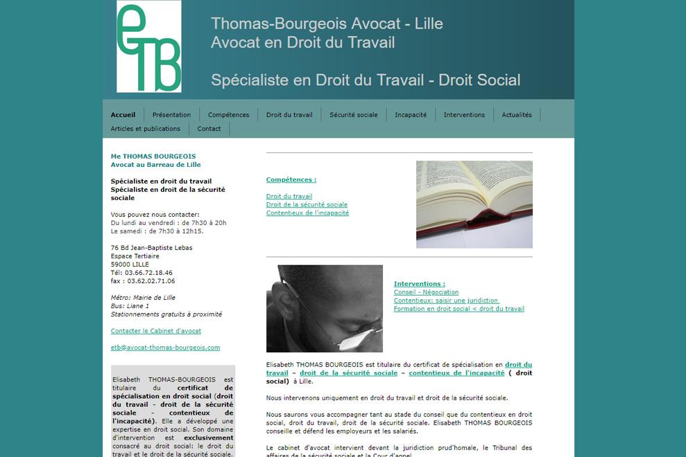 Me Thomas Bourgeois, avocat droit du travail