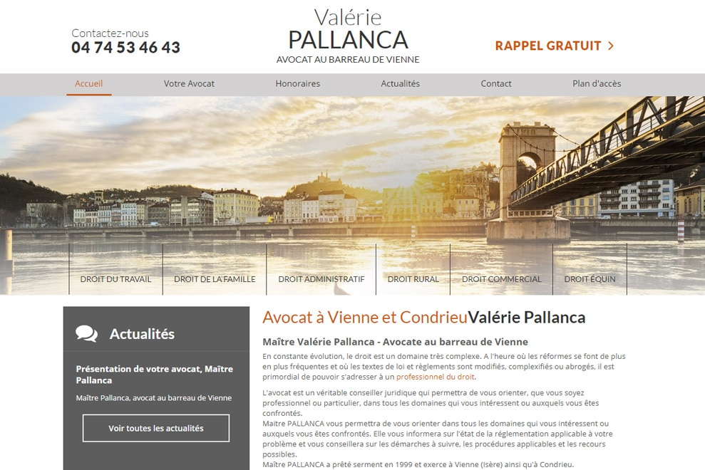 Me Valérie Pallanca, avocat droit de la famille