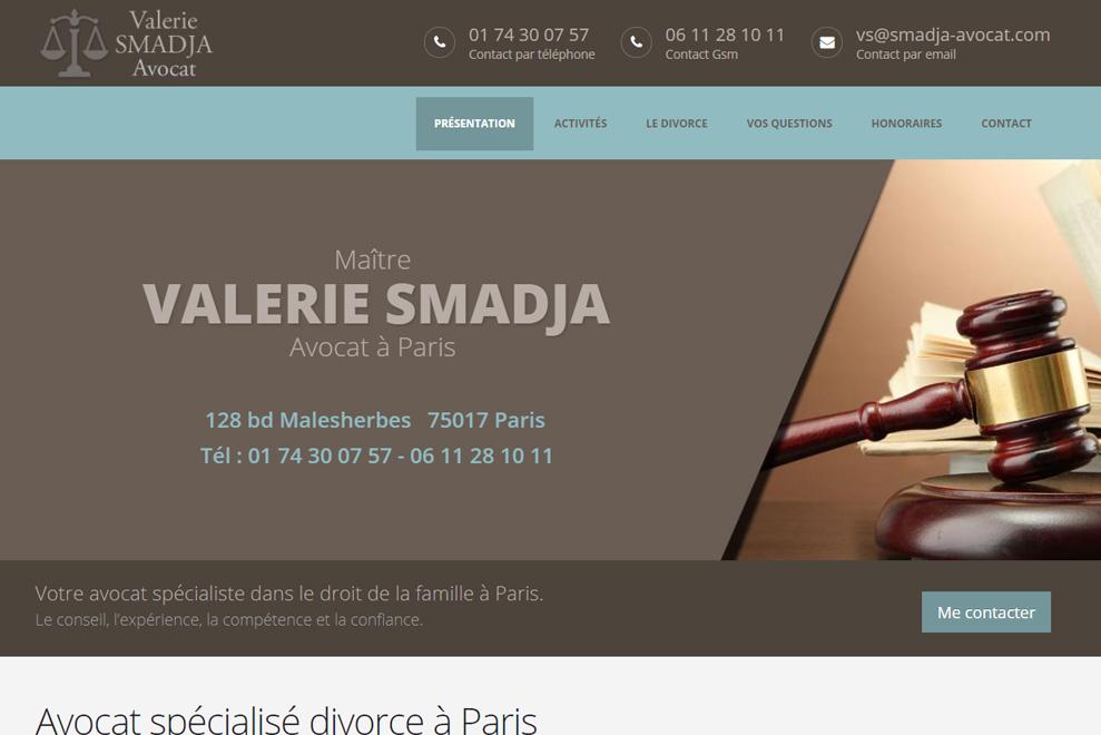 Me Valérie Smajda, avocat droit de la famille