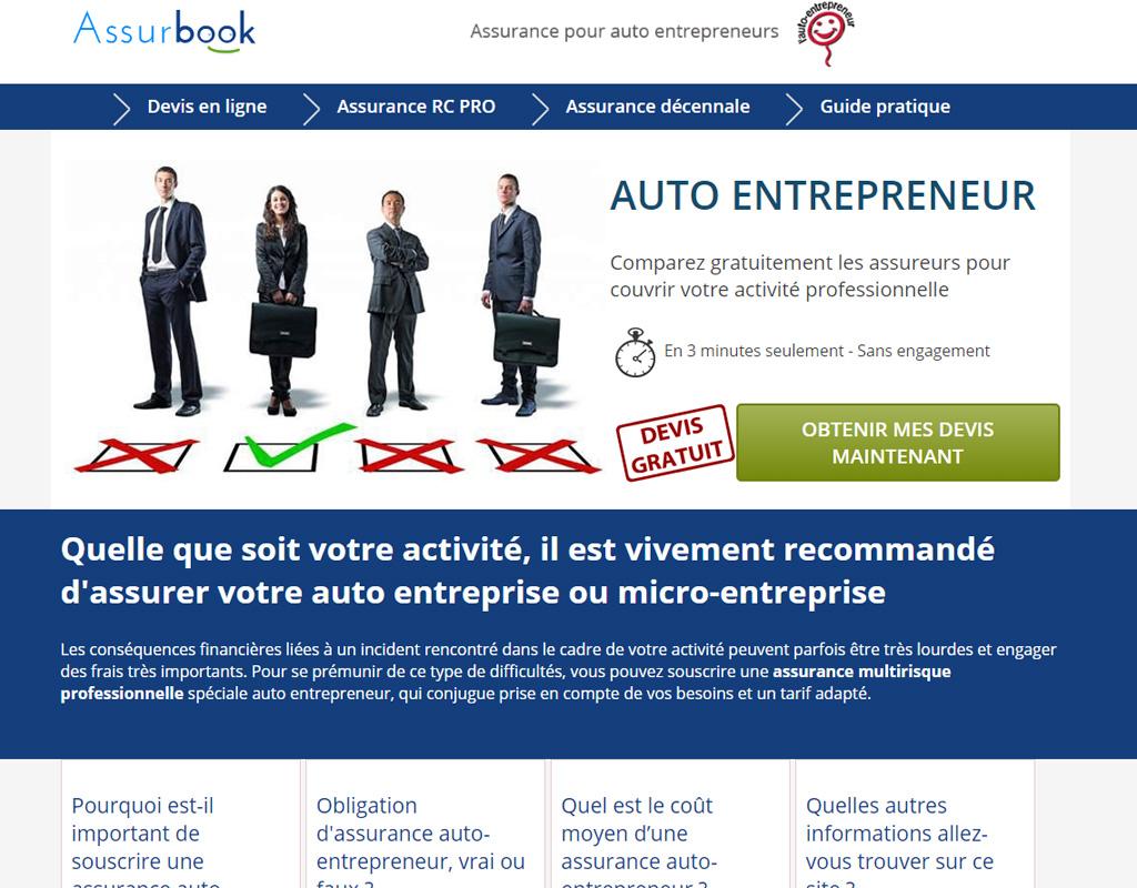 Minfo, assurance auto-entrepreneurs