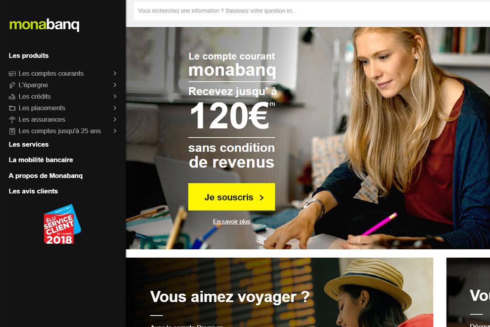 Monabanq, la banque en ligne
