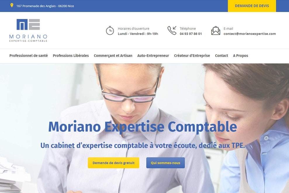 Moriano, expertise comptable
