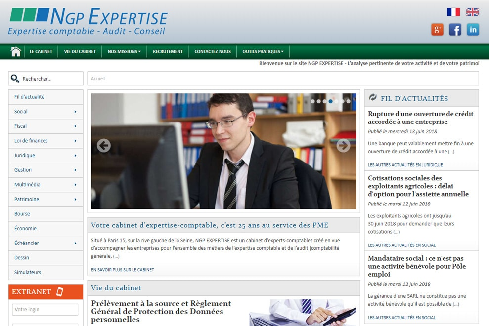 NGP Expertise, cabinet d'expertise comptable
