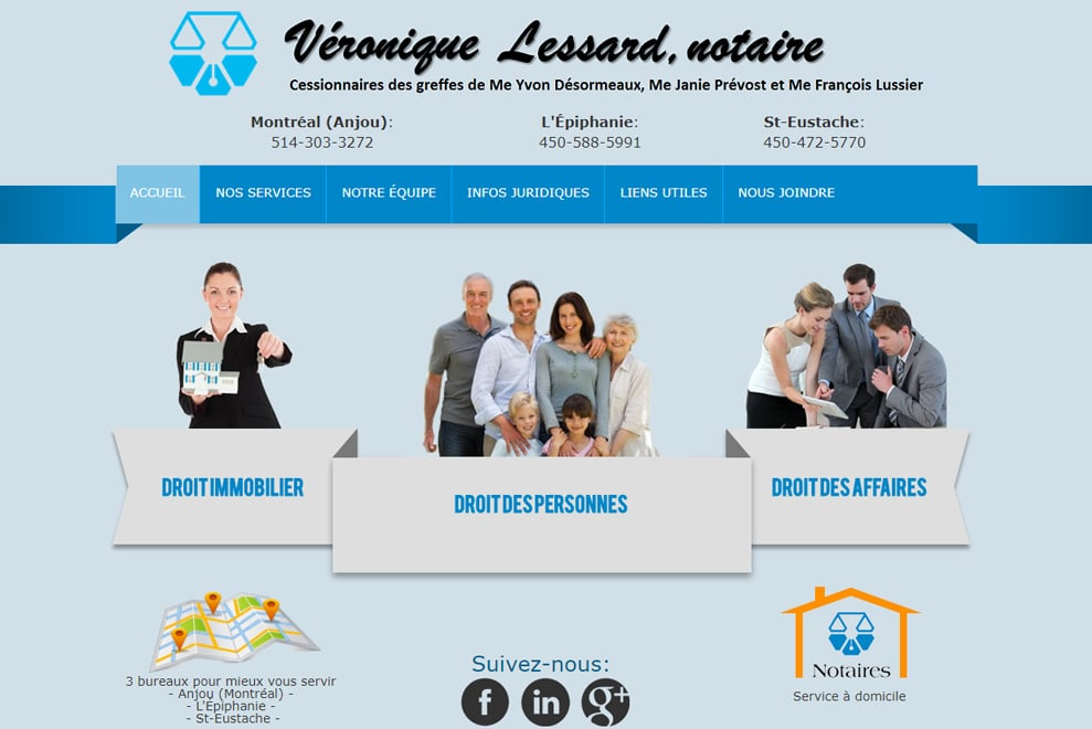 Office notarial Lessard & Vachon, notaires
