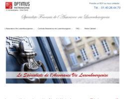 Optimus Patrimoine, assurance-vie Luxembourg