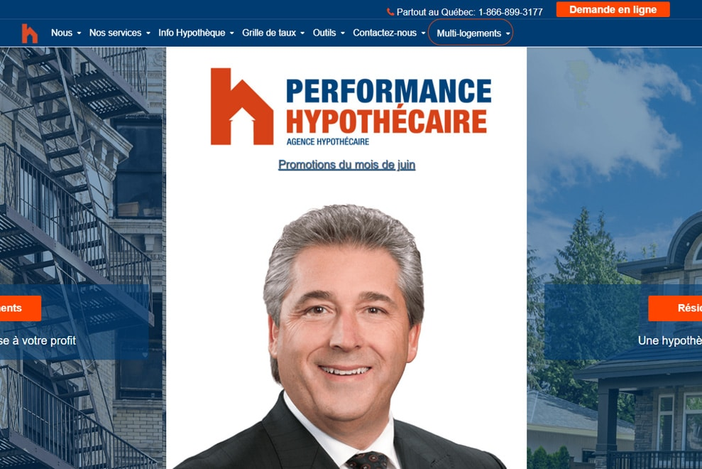 Performance Hypothécaire, crédit hypothécaire