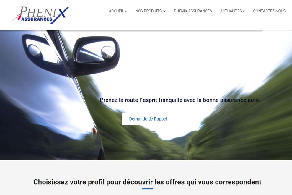 Phenix assurances, assurances privées et professionnelles