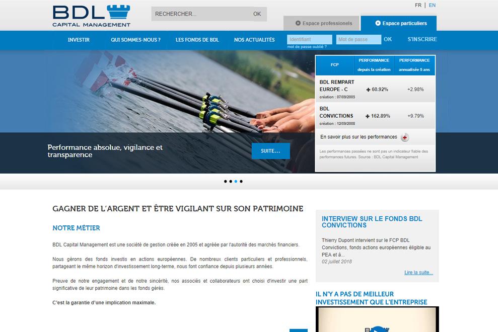 BDL Capital Management, gestion de fonds