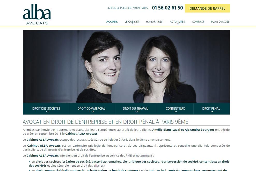 Cabinet ALBA, avocats droit des sociétés