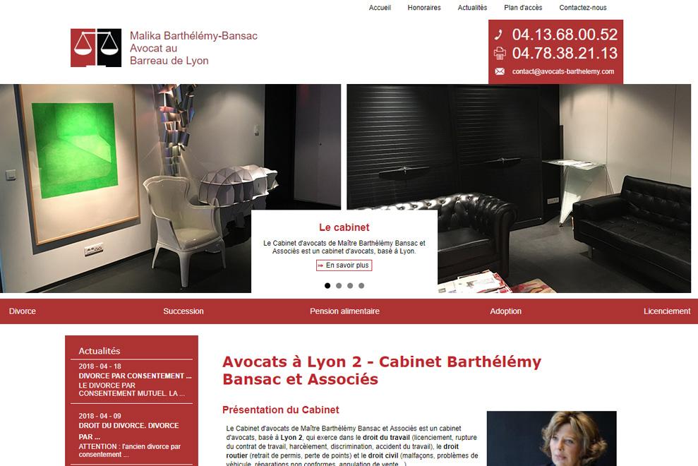 Cabinet Barthélémy Bansac et Associés, avocats