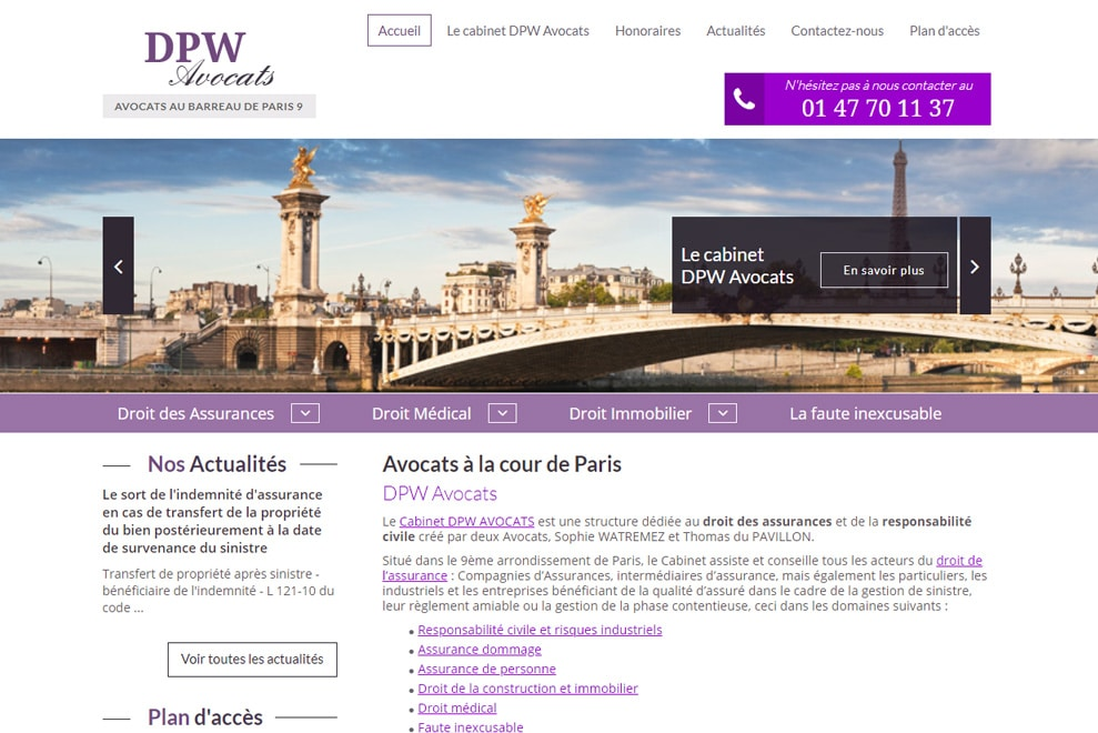 Cabinet DPW, avocats pluridisciplinaires