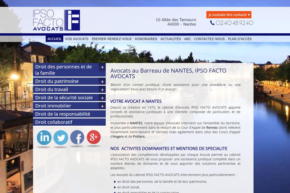 Cabinet Ipso Facto, avocats pluridisciplinaires