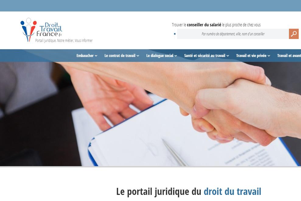 Droit Travail France,portail juridique