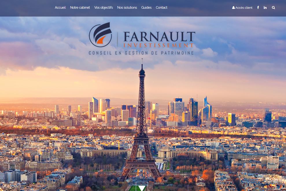 Farnault Investissement, gestion de patrimoine