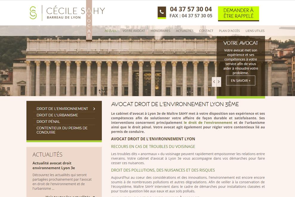 Me Cécile Sahy, avocat droit de l'environnement