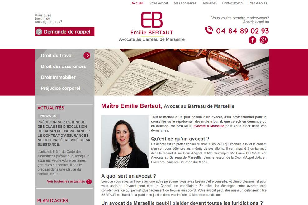 Me Émilie Bertaux, avocat droit du travail