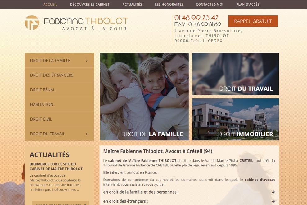 Me Fabienne Thibolot, avocat droit de la famille