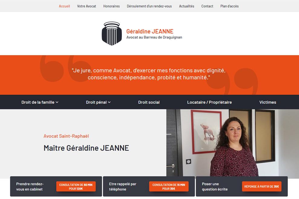 Me Géraldine Jeanne, avocat droit de la famille