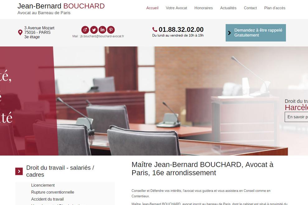 Me Jean-Bernard Bouchard,avocatdroit du travail