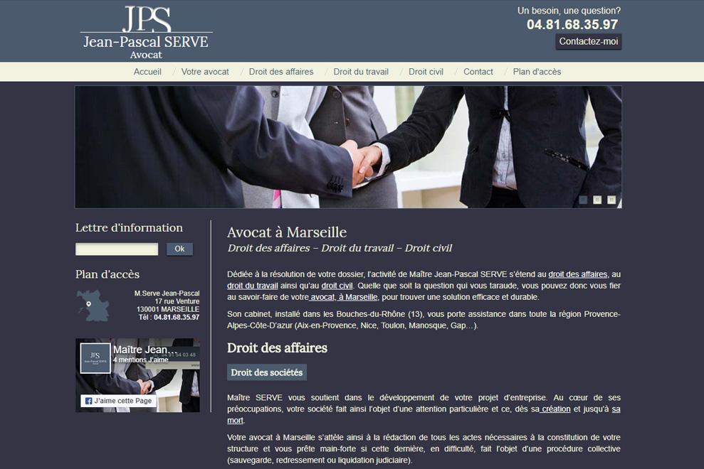 Me Jean-Pascal Serve, avocat droit du travail