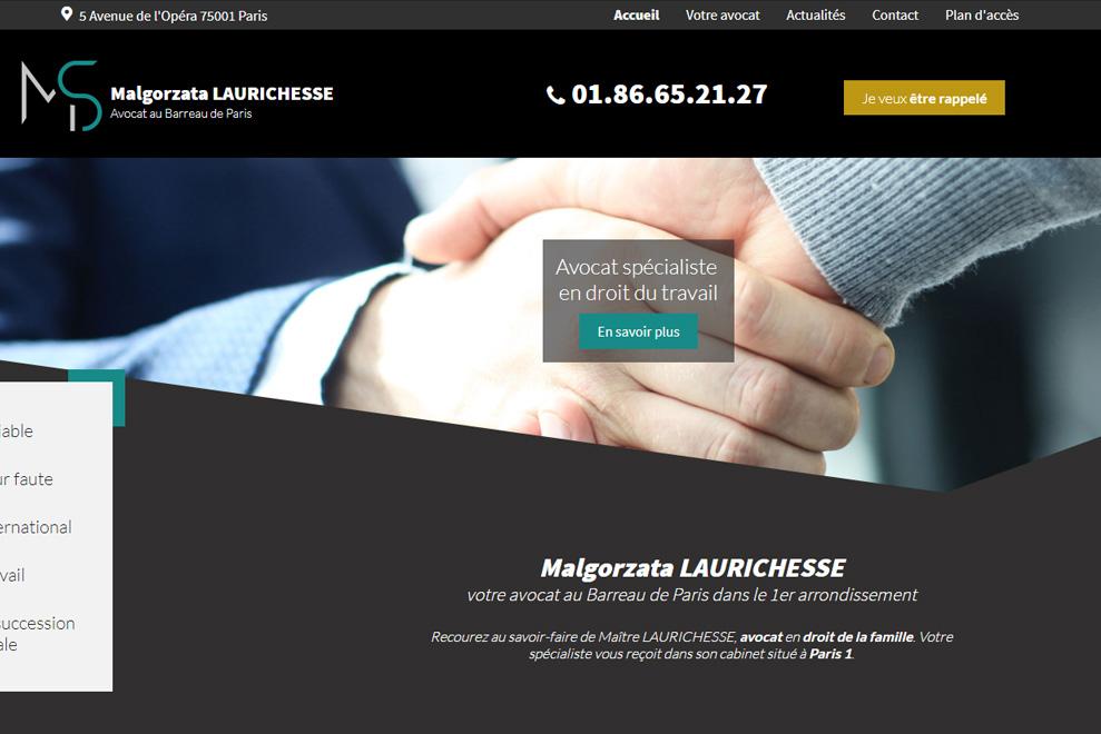 Me Malgorzata Laurichesse, avocate généraliste