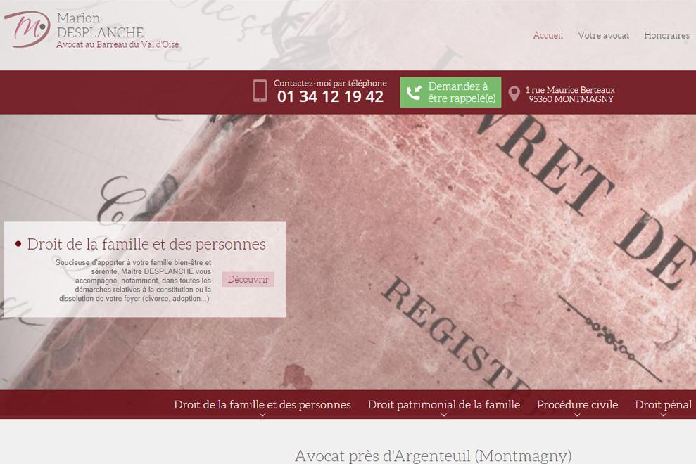 Me Marion Desplanche, avocat droit patrimonial