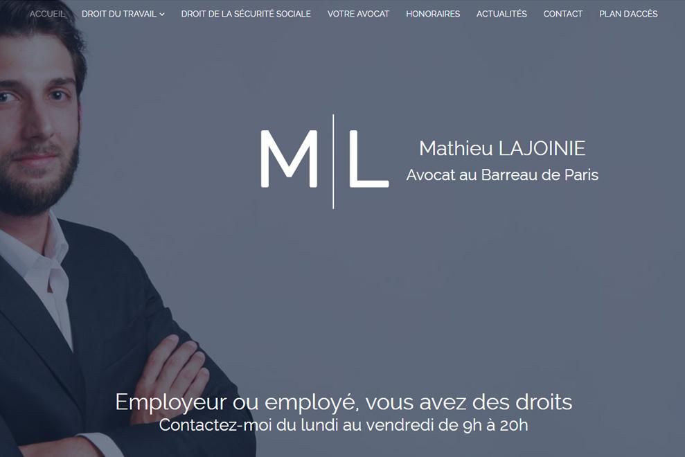 Me Mathieu Lajoinie, avocat généraliste