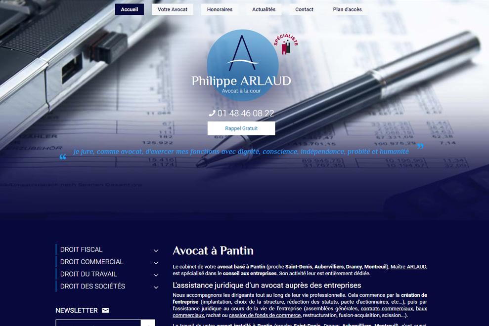 Me Philippe Arlaud, avocat droit du travail