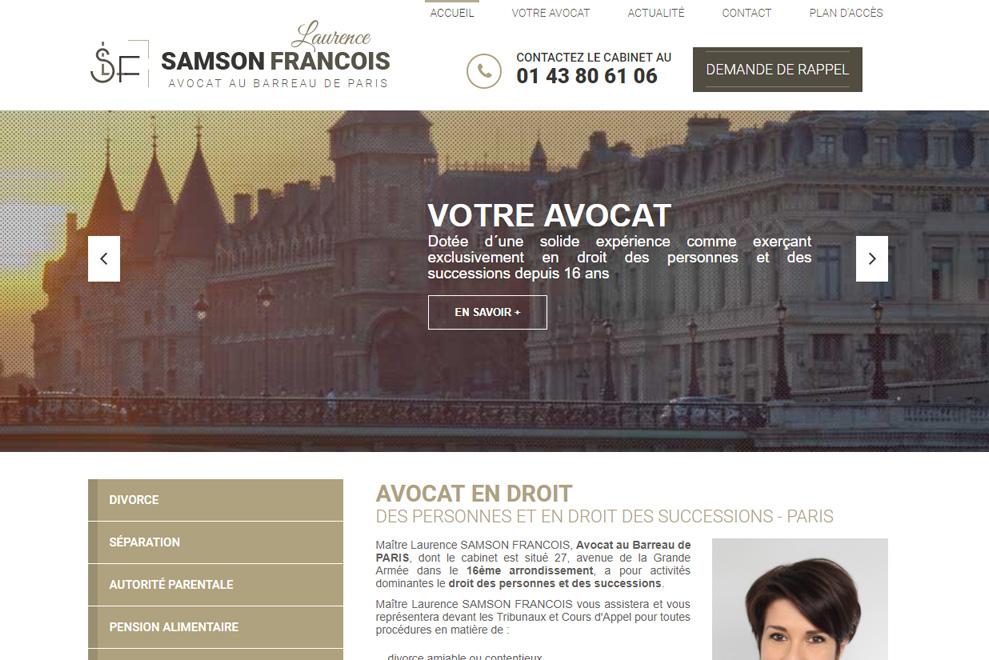 Me Samson François, avocat droit de la famille