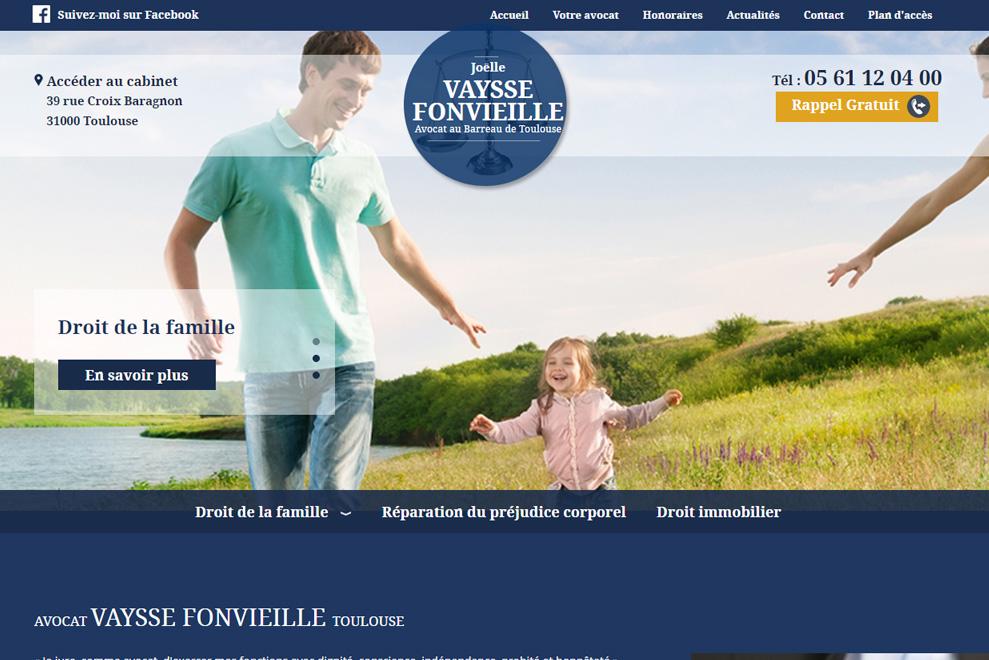 Me Vaysse Fonvieille, avocat droit de la famille