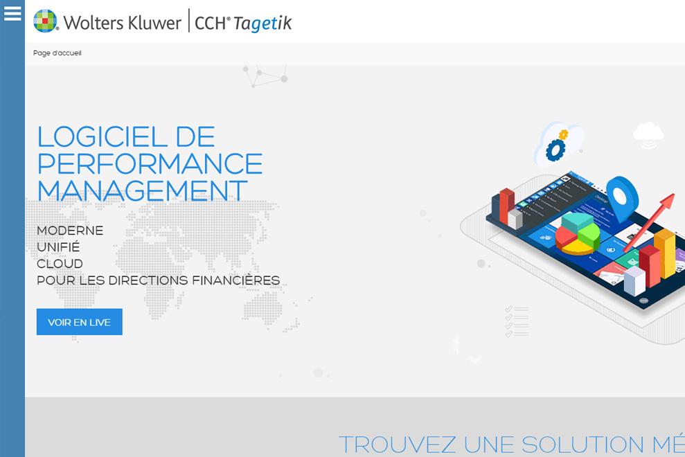 Tagetik,logiciel de gestion