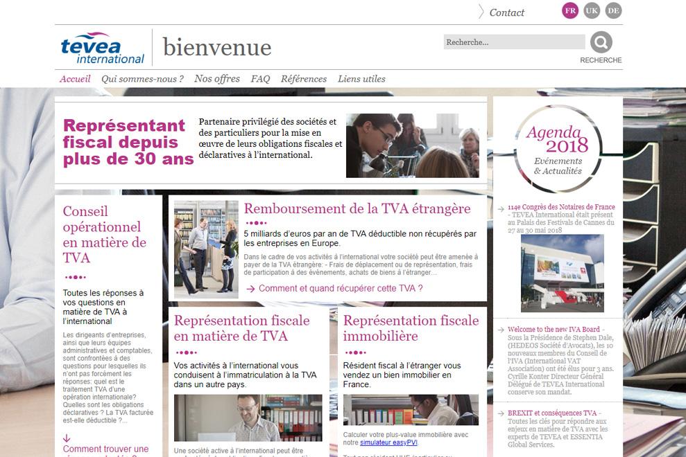 TEVEA International, conseils en fiscalité