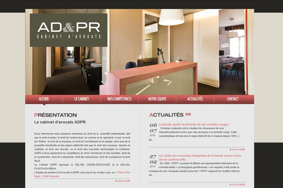 AD&PR, cabinet d'avocats multidisciplinaire