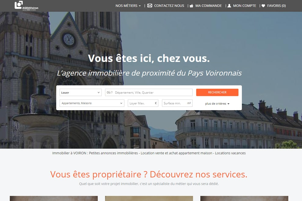 AGDA Voiron, agence immobilière