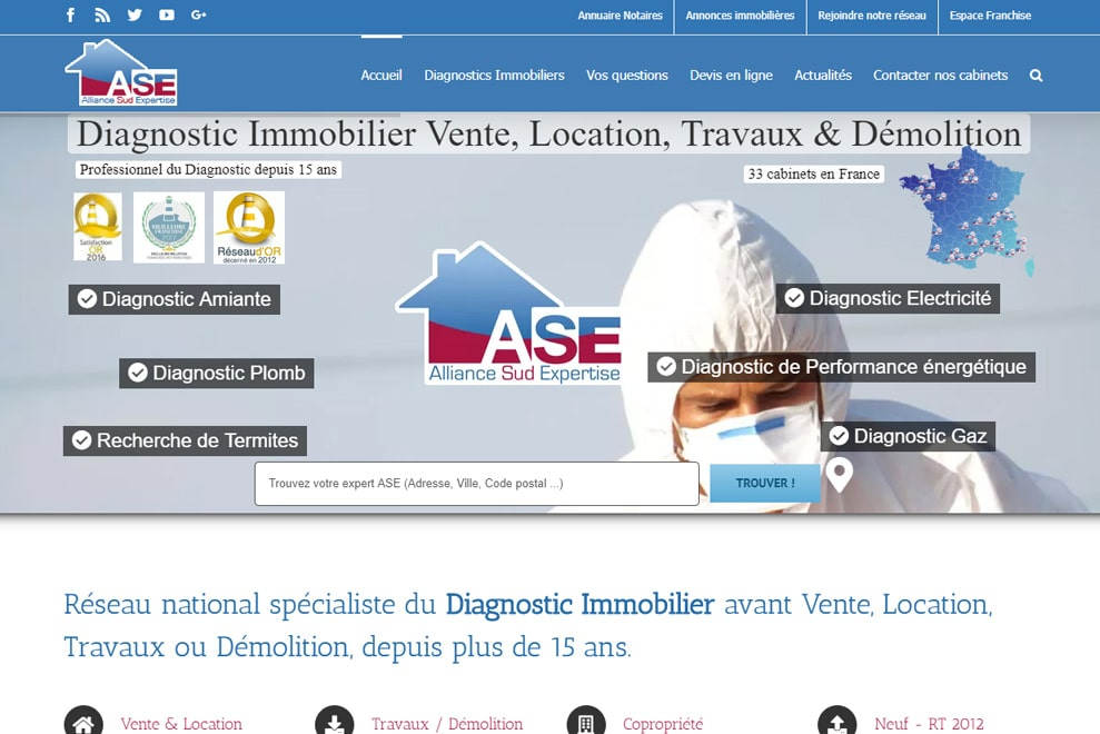Alliance Sud Expertise, diagnostic immobilier