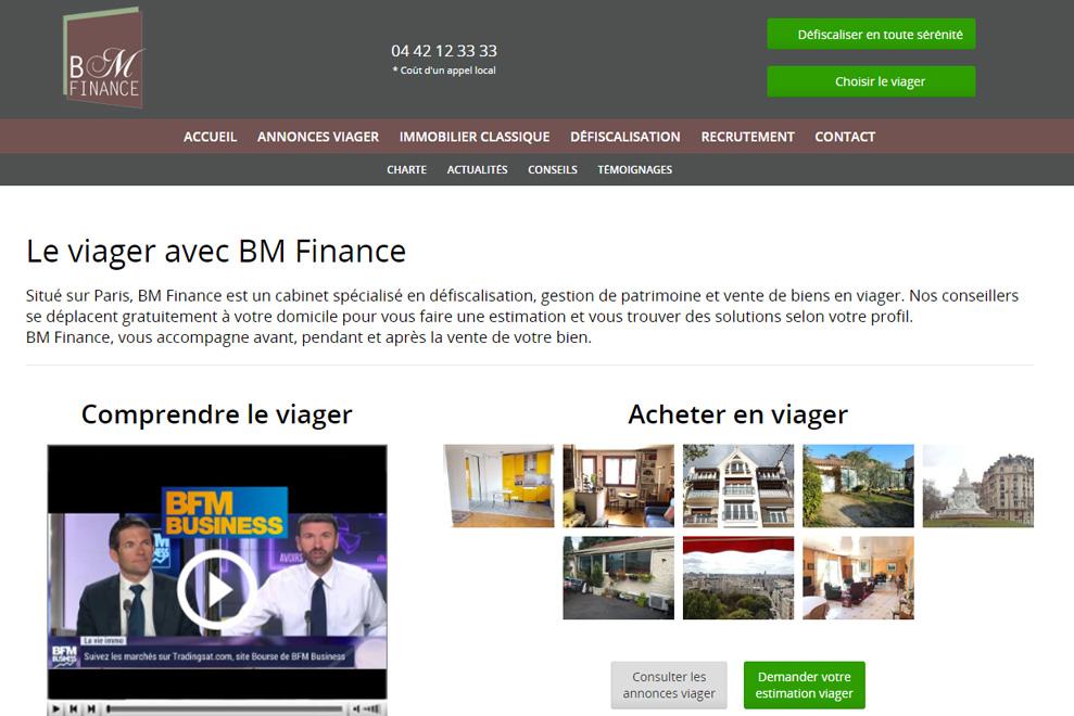 BM Finance,gestion de patrimoine