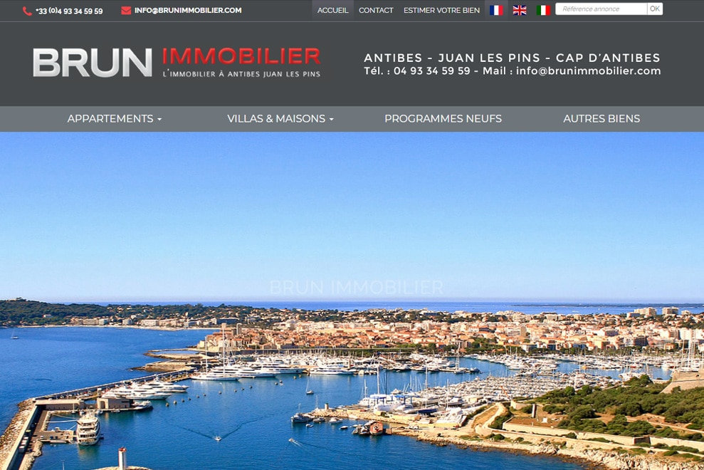 Brun Immobilier,agence immobilière