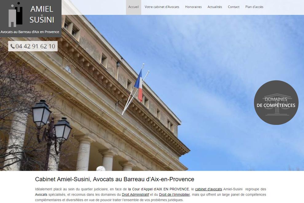 Cabinet Amiel-Susini, avocat construction