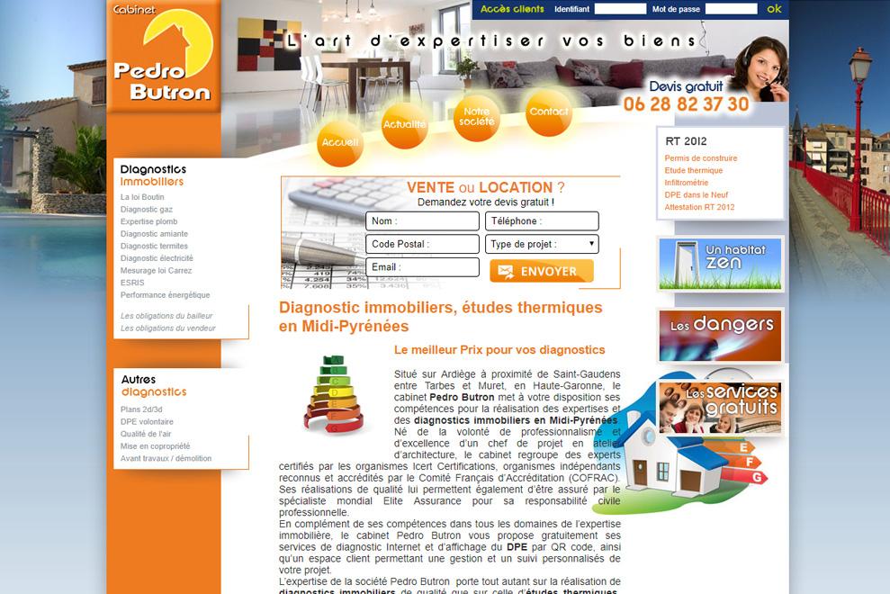Cabinet Pedro Butron,diagnostics immobilier