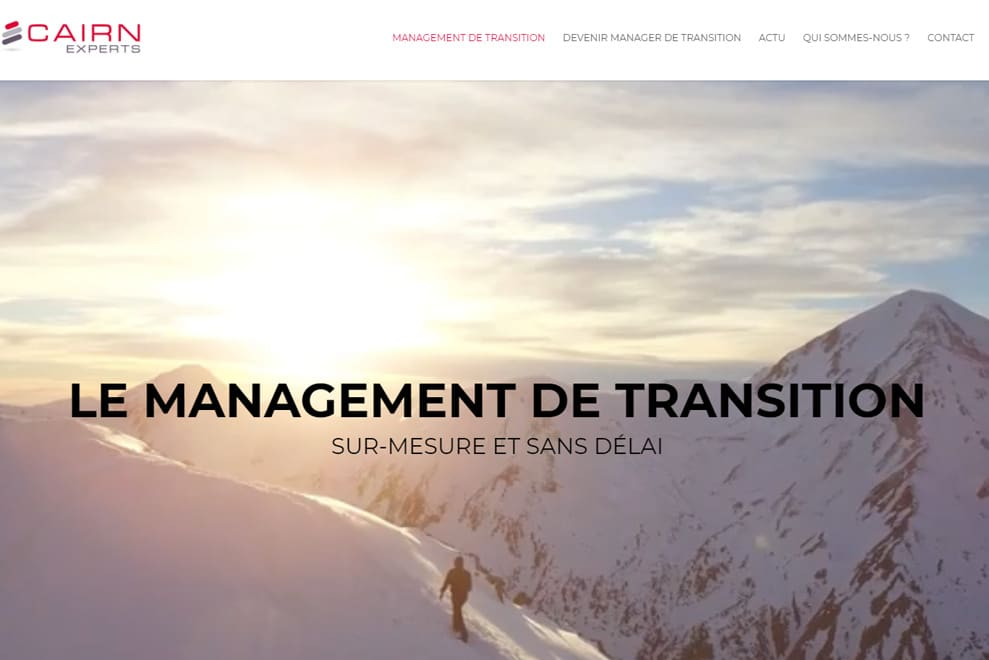 Cairn Experts, management de transition