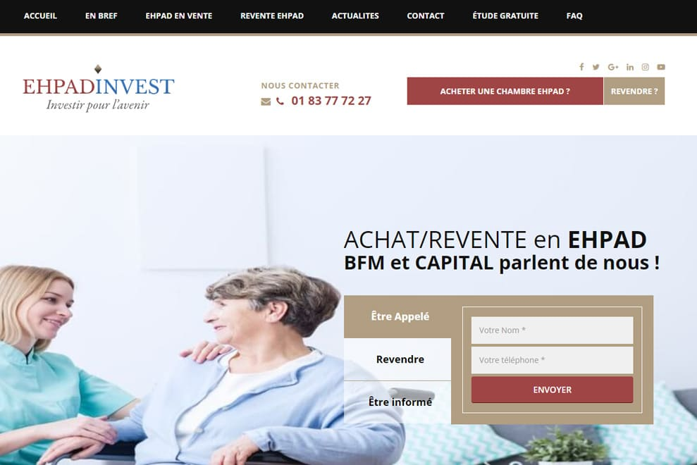 EHPAD Invest, gestion de patrimoine