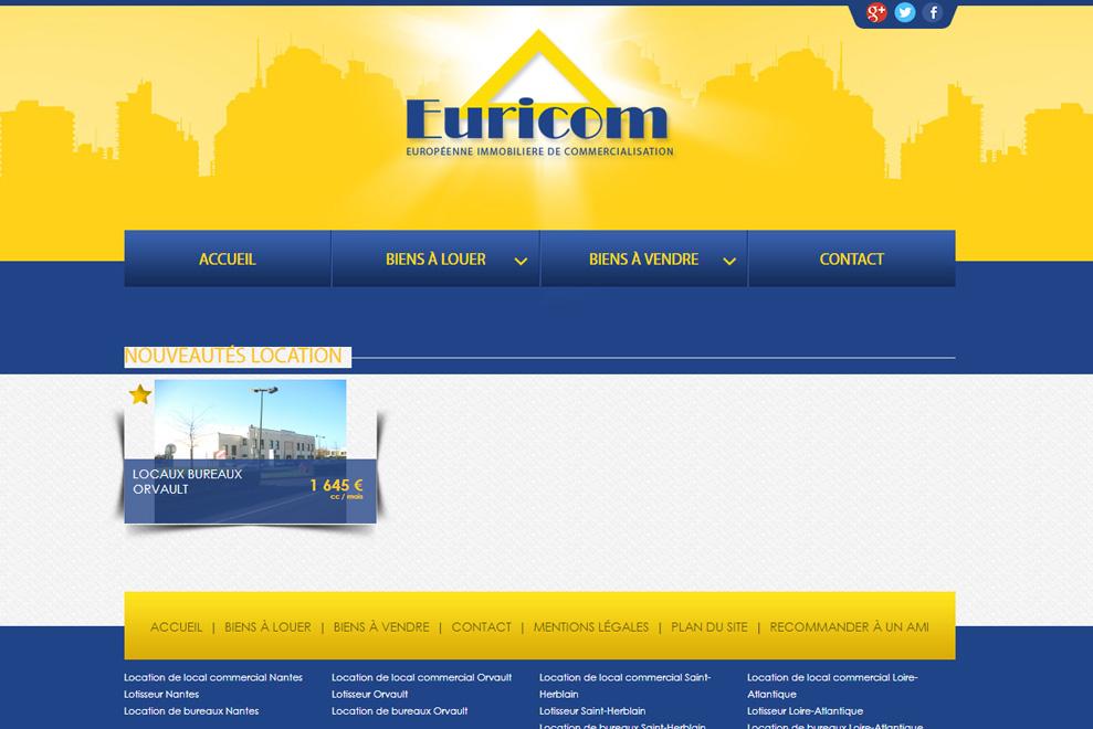 Euricom Atlantique, agence immobilière