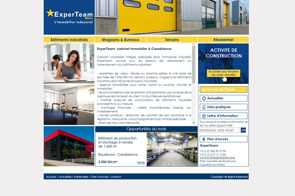 ExperTeam,agence immobilière