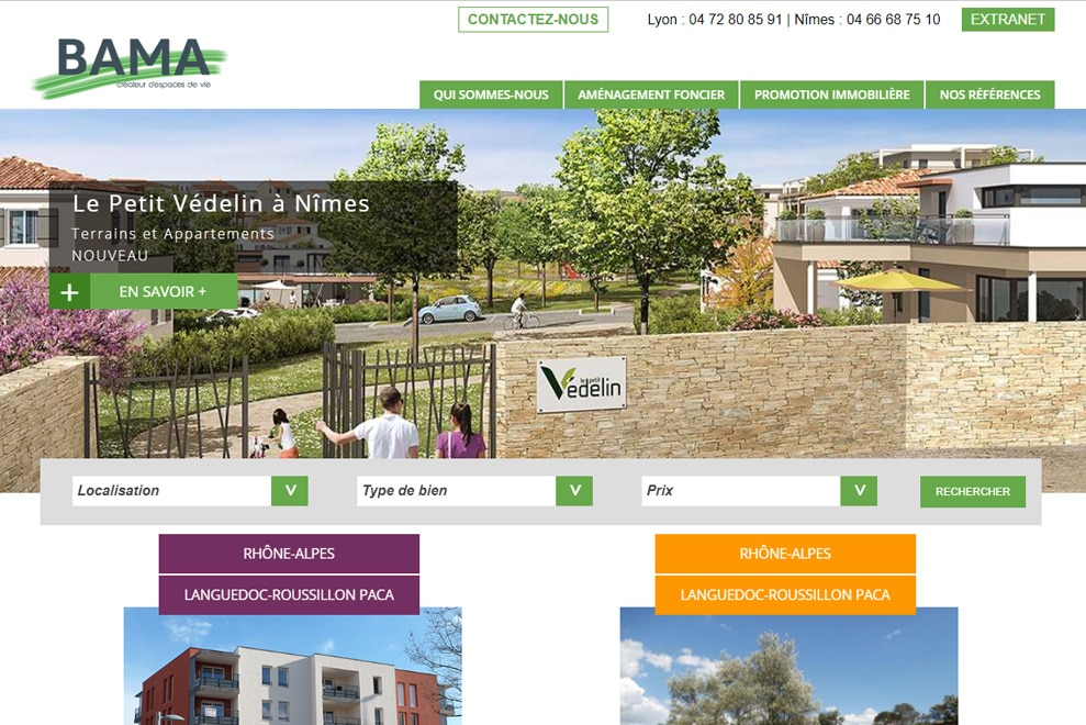 Groupe Bama, promoteur immobilier