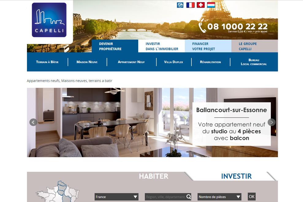 Groupe Capelli,promotion immobilière