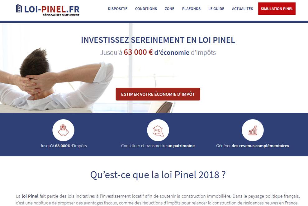 Loi Pinel, investissement locatif