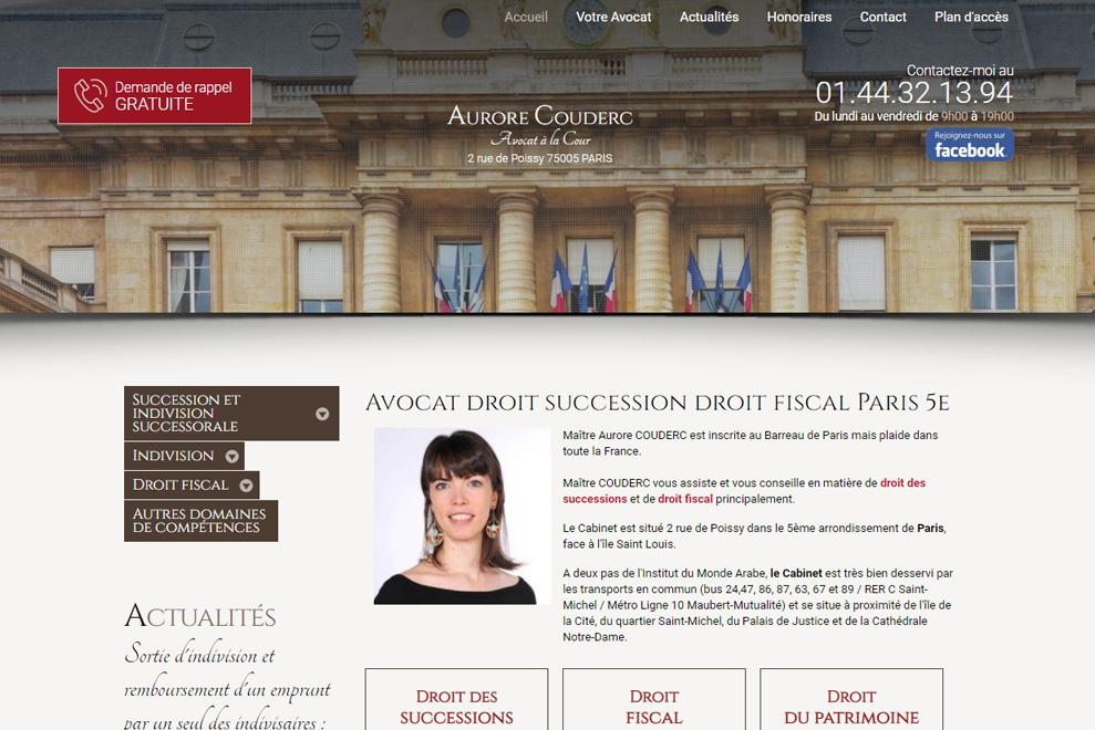 Me AuroreCouderc,avocat fiscaliste