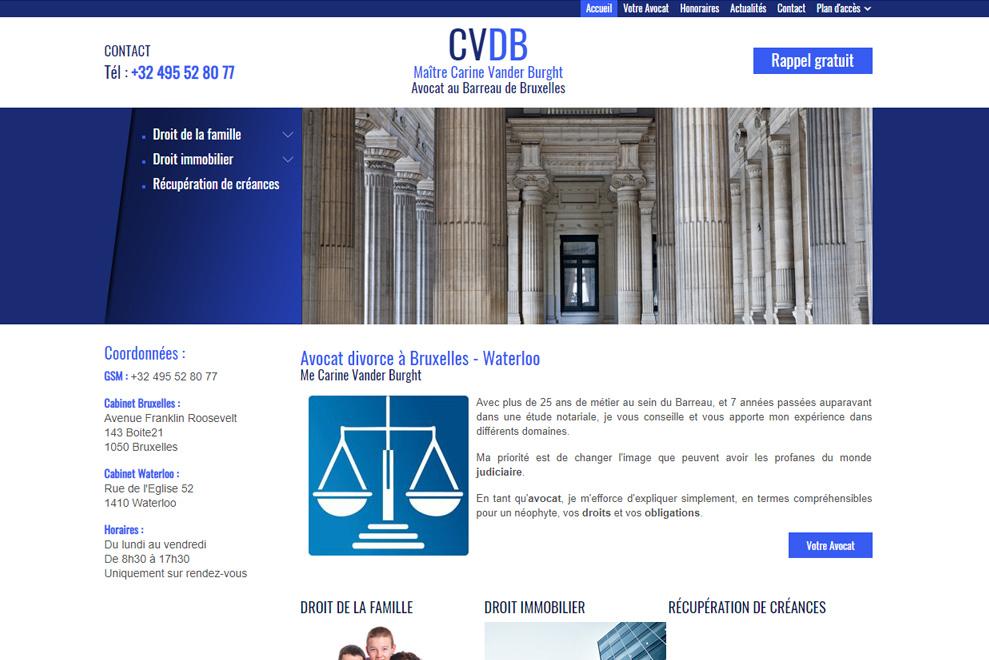 Me Carine Vander Burght, avocat copropriété